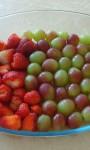 Sobremesa de Uva Itália ou Morango